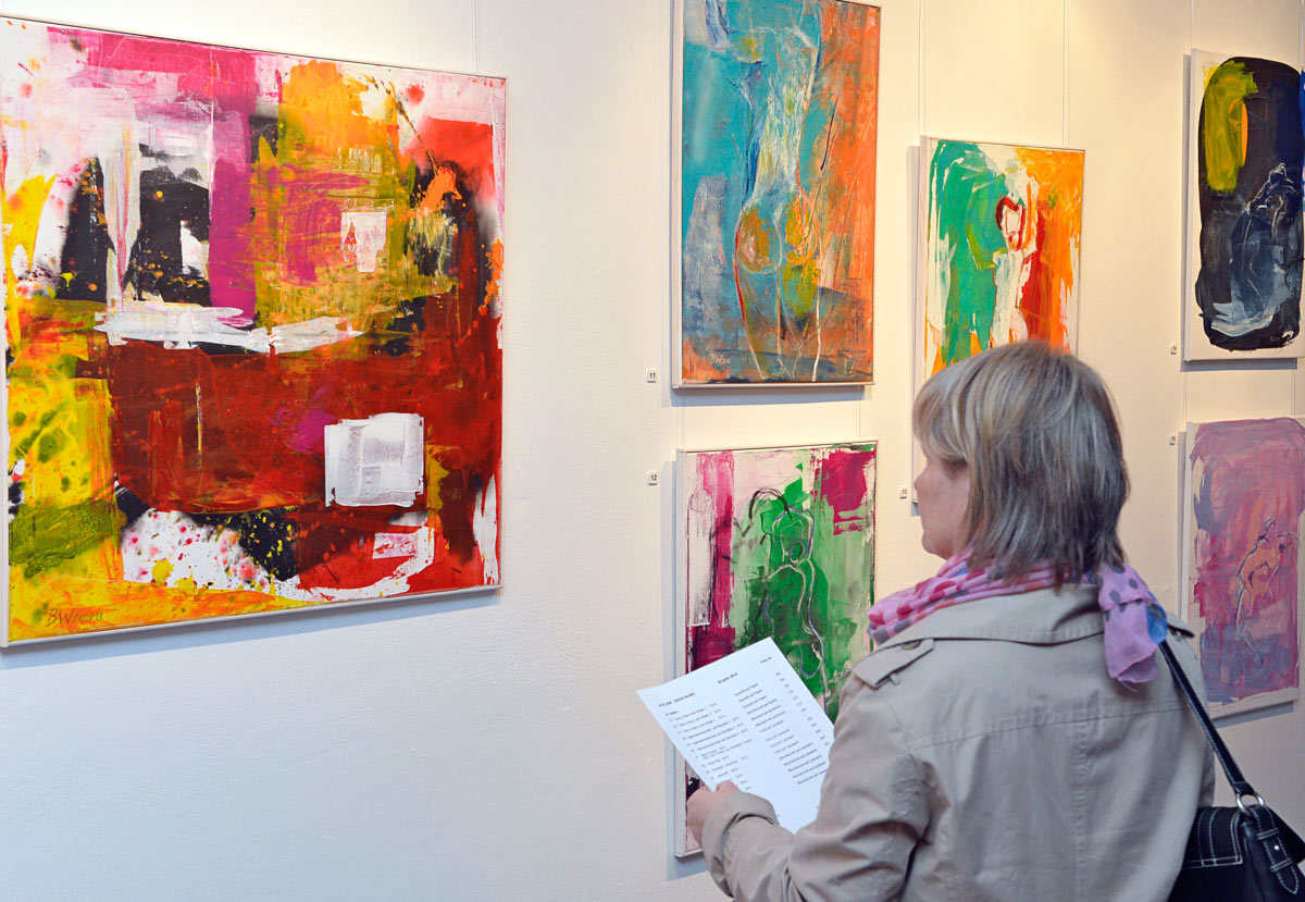 Atelier Eröffnung von Brigitte Wolf